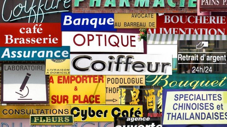 annuaire des commerces,magasins, coiffeurs, artisans, dentistes, medecins